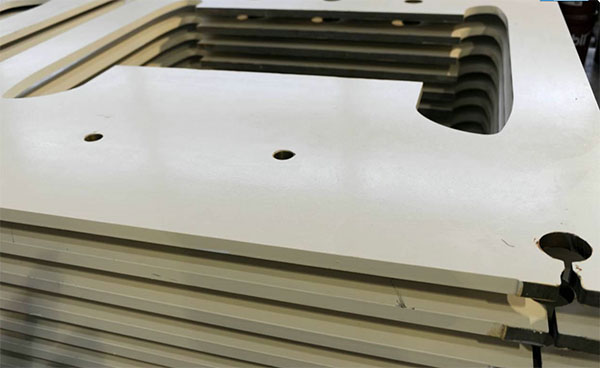 thick stainless plate waterjet cutting