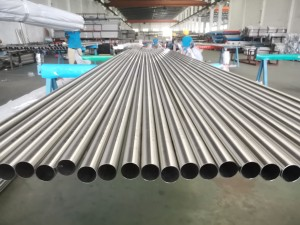 Stainless steel round welded pipe